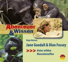 Jane Goodall & Dian Fossey, 1 Audio-CD - Nielsen, Maja