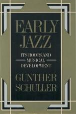 Early Jazz - Gunther Schuller