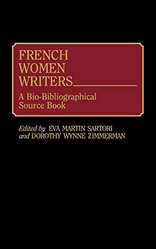 French Women Writers - Eva Martin Sartori